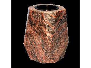 Vase funéraire carré en...