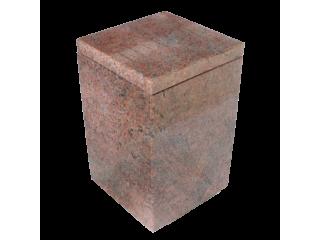 Urne funéraire carrée