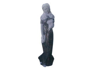 Statue funéraire pleureuse