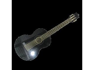 Statue funéraire guitare