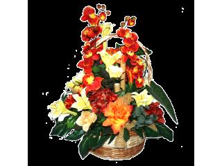 Panier fleuri 1B