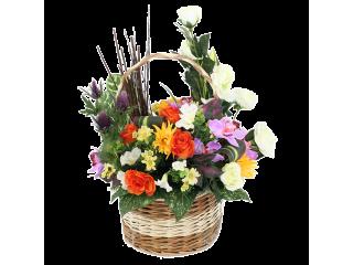 Panier fleuri 4A
