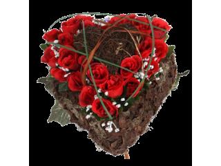 Coeur végétal naturel 19A