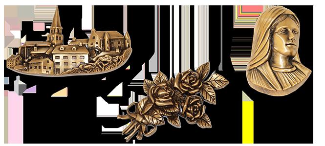 Image réprésentative de la catégorie Bronze funéraire