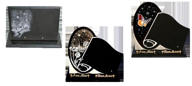 Image réprésentative de la catégorie Plaque funéraire Strass