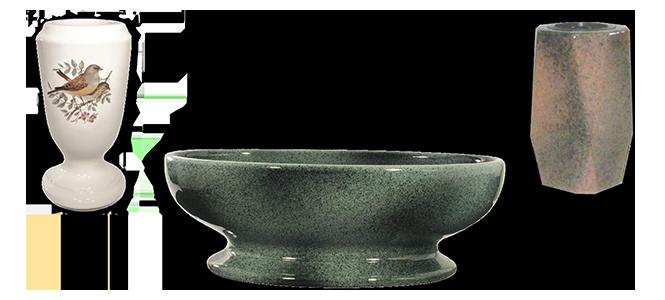 Image réprésentative de la catégorie Vase funéraire céramique