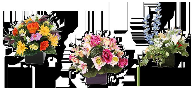 Image réprésentative de la catégorie Vase garni