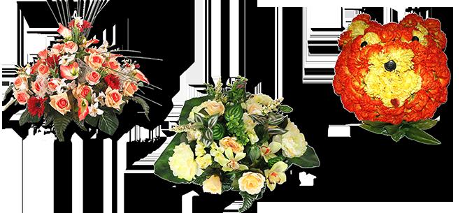 Image réprésentative de la catégorie Coussin fleur artificielle