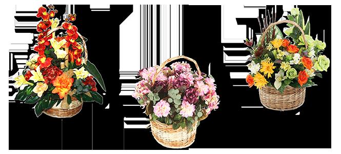 Image réprésentative de la catégorie Panier fleuri