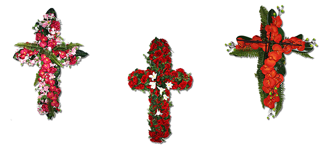 Image réprésentative de la catégorie Croix fleurie
