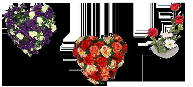 Image réprésentative de la catégorie Coeur fleuri