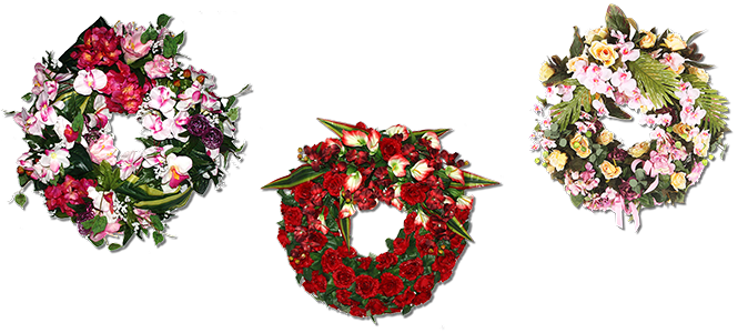 Image réprésentative de la catégorie Couronne fleurie
